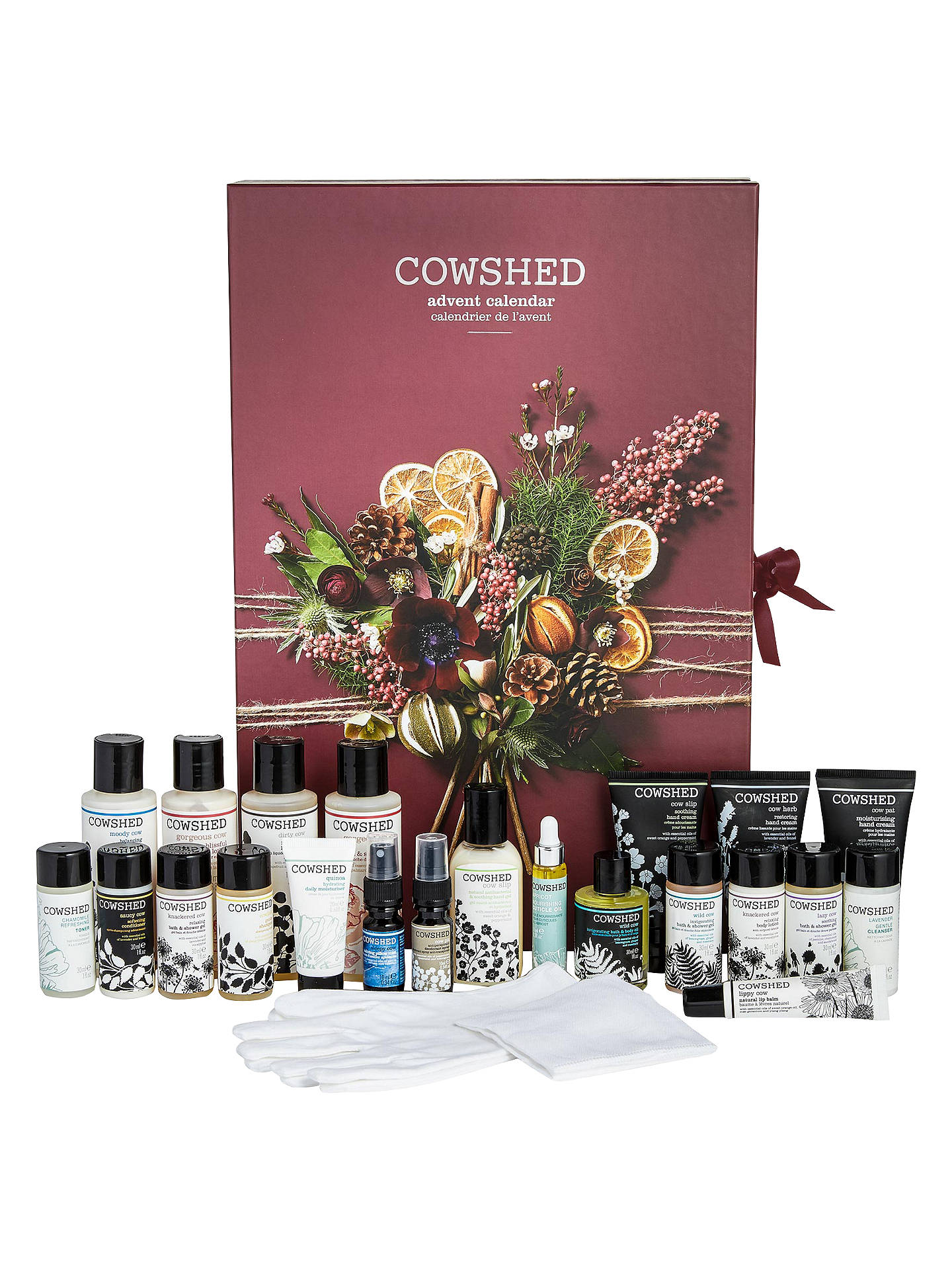 BuyCowshed Beauty Advent Calendar Online at johnlewis.com