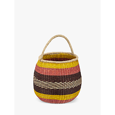 John Lewis Fusion Seagrass Basket with Handle