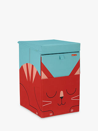 Buy John Lewis & Partners Cat Stackable Laundry Box, Multi Online at johnlewis.com