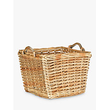 Buy John Lewis Willow Basket with Wooden Handles Online at johnlewis.com