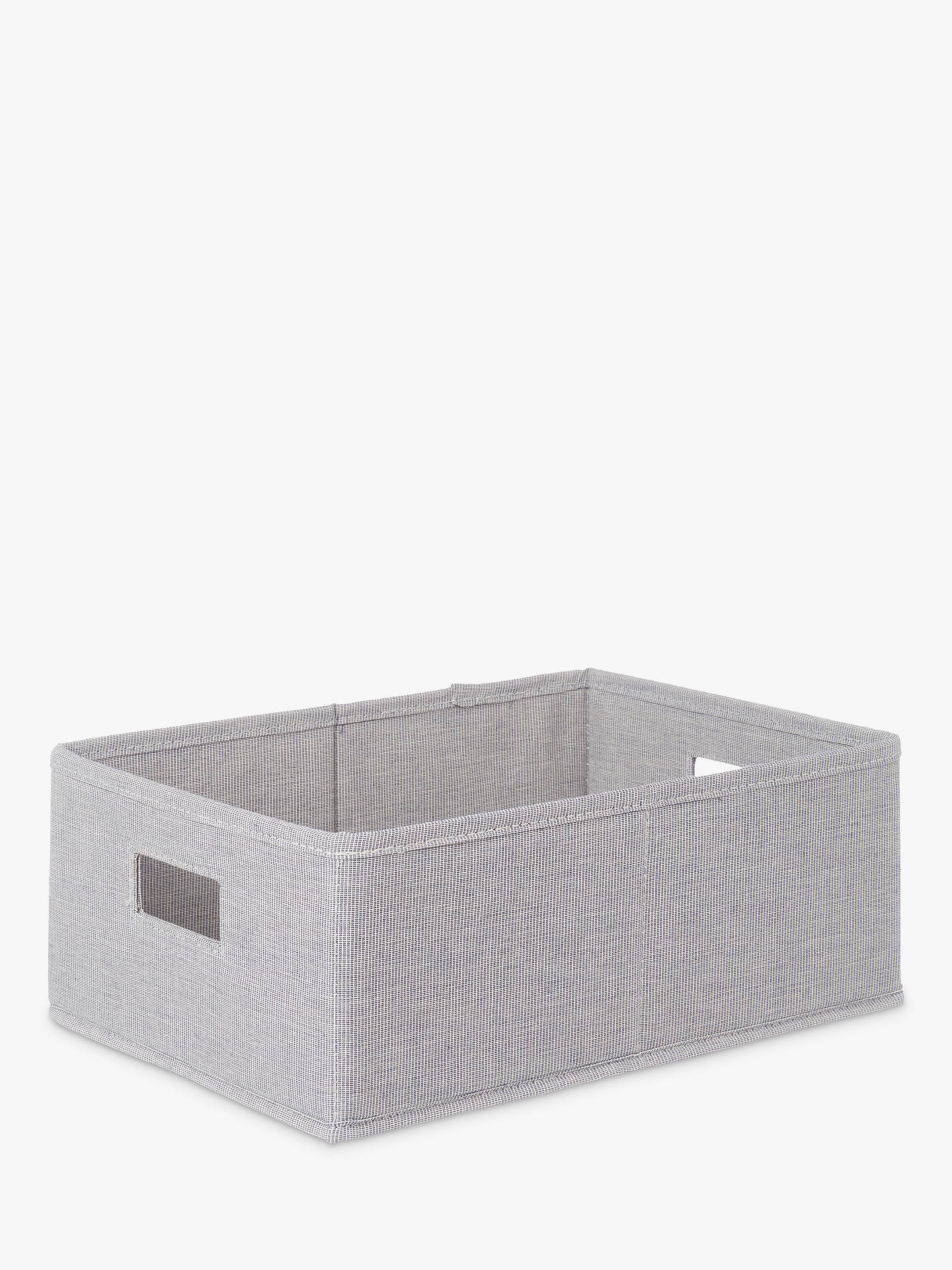 john lewis partners mix it storage box grey small at. Black Bedroom Furniture Sets. Home Design Ideas