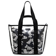 Buy Radley Folk Dog Large Grab Bag, Black Online at johnlewis.com