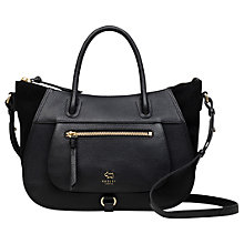 Buy Radley Highgate Wood Leather Medium Shoulder Bag Online at johnlewis.com