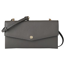 Buy L.K. Bennett Dakoda Grained Leather Shoulder Bag Online at johnlewis.com