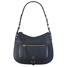 Buy Radley Highgate Wood Leather Medium Hobo Bag Online at johnlewis.com
