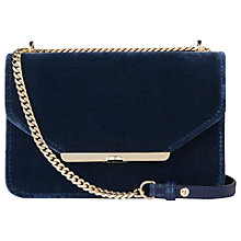 Buy L.K. Bennett Karla Shoulder Bag, Powder Blue Online at johnlewis.com
