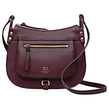 Buy Radley Highgate Wood Leather Medium Across Body Bag Online at johnlewis.com