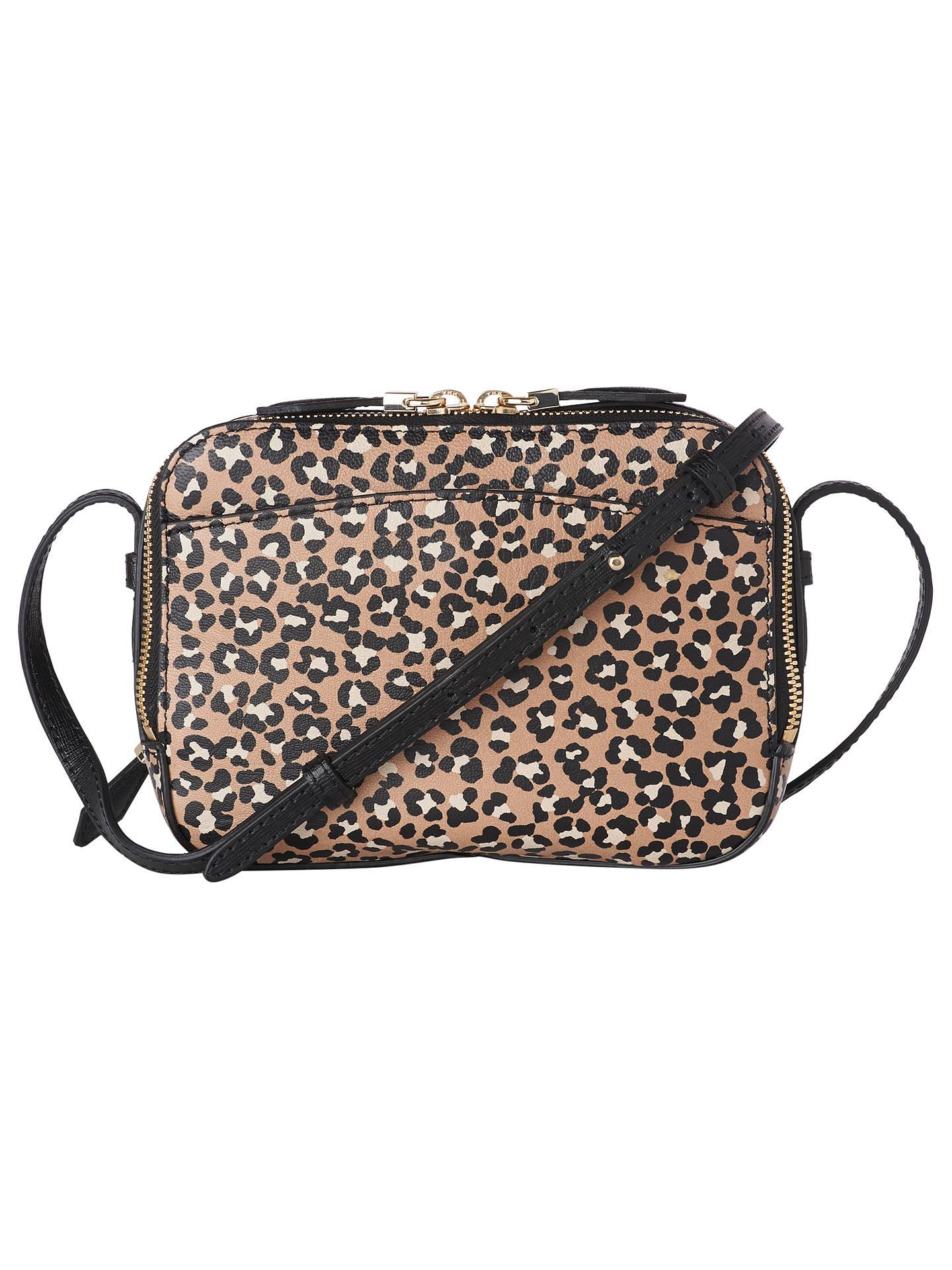 7cd83d9f9b6f Buy L.K.Bennett Mariel Leather Cross Body Bag, Animal Print Online at  johnlewis.com ...