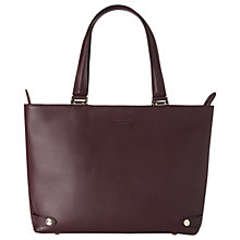 Buy L.K. Bennett Roberta Leather Tote Bag Online at johnlewis.com