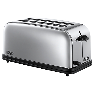 Russell Hobbs Classic Chester 4-Slice Multi-Toaster, Stainless Steel