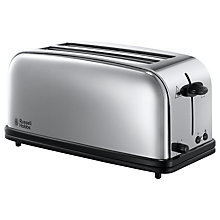 Buy Russell Hobbs Classic Chester 4-Slice Multi-Toaster, Stainless Steel Online at johnlewis.com