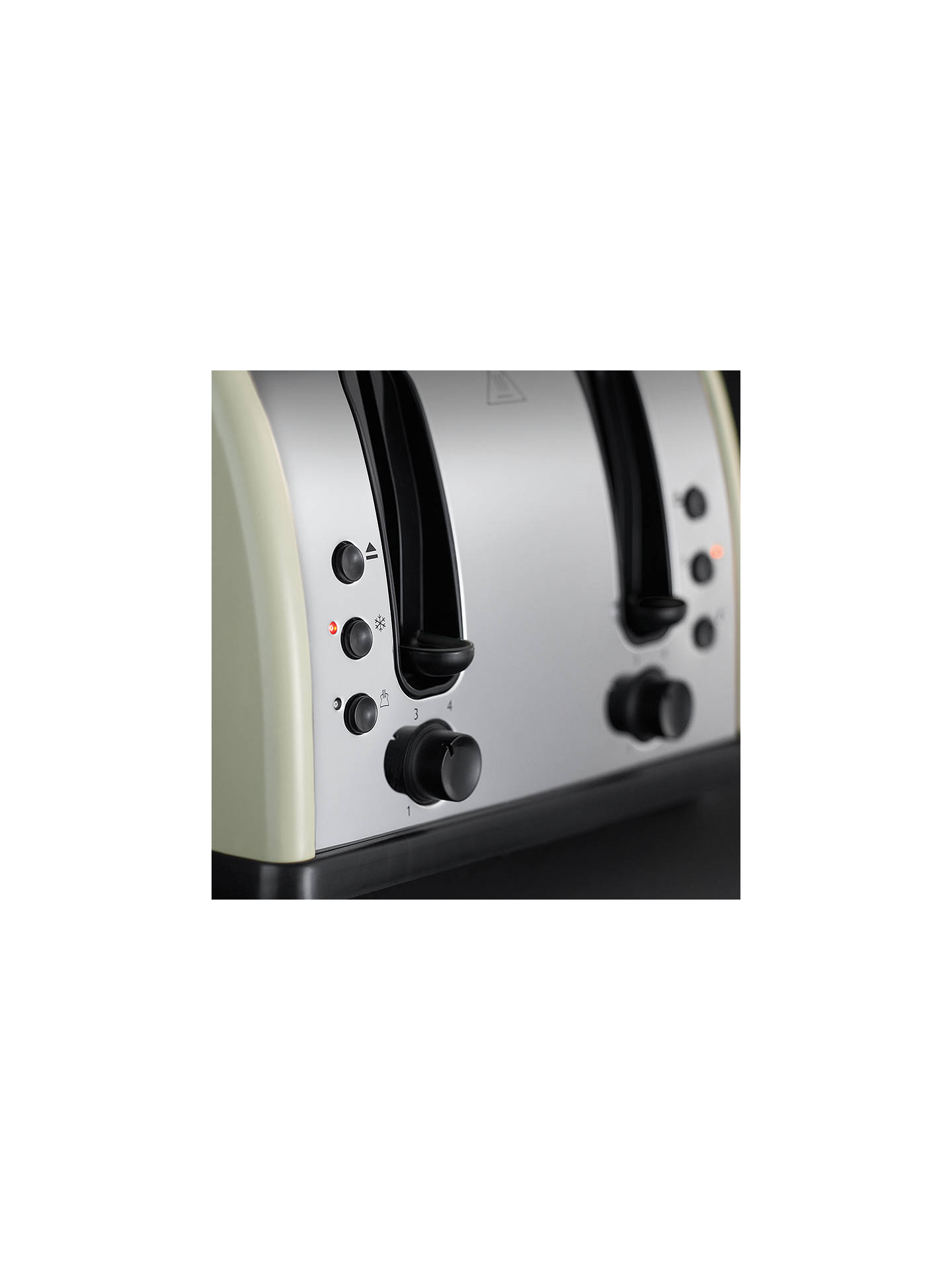 Buy Russell Hobbs Legacy Toaster, Cream Online at johnlewis.com