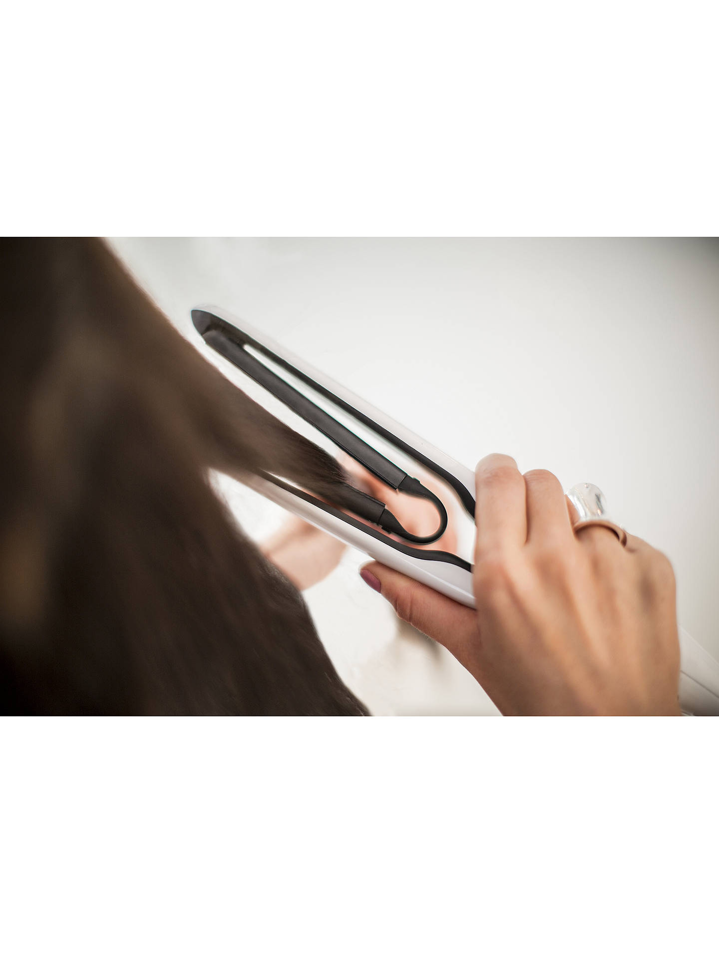Buy Remington S7412 Air Plates Straightener, White Online at johnlewis.com