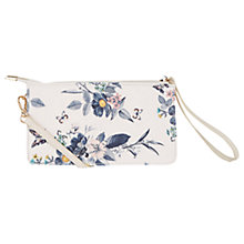 Buy Oasis Shipwreck Printed Mini Across Body Bag, Multi/White Online at johnlewis.com