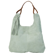Buy White Stuff Finella Hobo Bag, Green Online at johnlewis.com