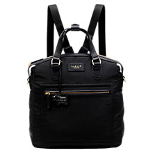 Buy Radley Spring Park Medium Backpack, Black Online at johnlewis.com