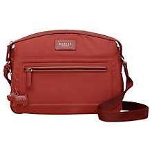 Buy Radley Spring Park Medium Cross Body Bag, Paprika Online at johnlewis.com