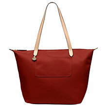 Buy Radley Pocket Essentials Fabric Large Tote Bag, Paprika Online at johnlewis.com