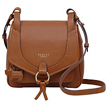 Buy Radley Sunray Gardens Leather Small Across Body Bag Online at johnlewis.com