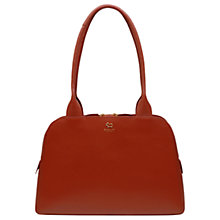 Buy Radley Millbank Leather Medium Tote Bag, Paprika Online at johnlewis.com