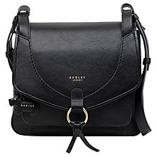 Buy Radley Sunray Gardens Leather Medium Shoulder Bag Online at johnlewis.com