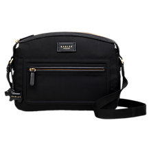 Buy Radley Spring Park Medium Cross Body Bag, Black Online at johnlewis.com