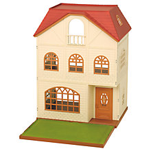 Buy Sylvanian Families Cedar Terrace Online at johnlewis.com