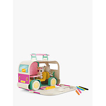 Buy Fuzzikins Craft Campervan Carry Case Online at johnlewis.com