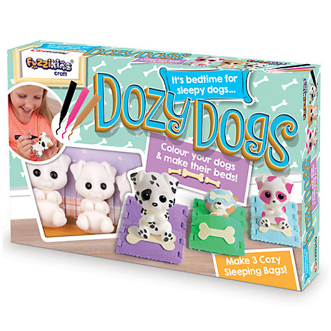 Buy Fuzzikins Craft Dozy Dogs Online at johnlewis.com