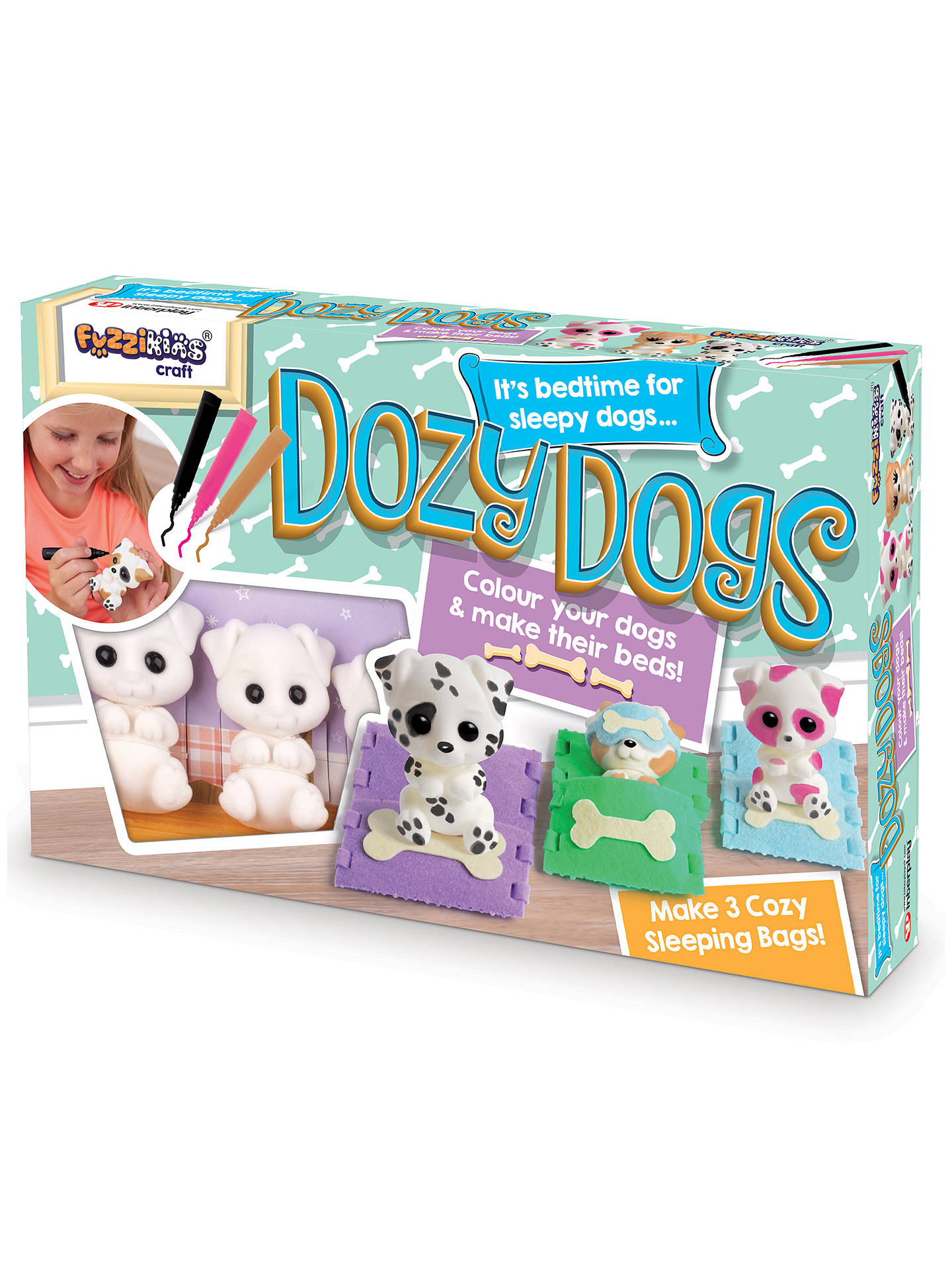 BuyFuzzikins Craft Dozy Dogs Online at johnlewis.com