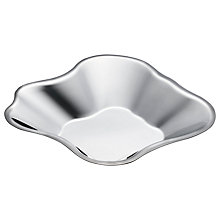 Buy Iittala Aalto Decorative Bowl, Stainless Steel Online at johnlewis.com