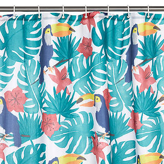 John Lewis Toucan Shower Curtain Multi