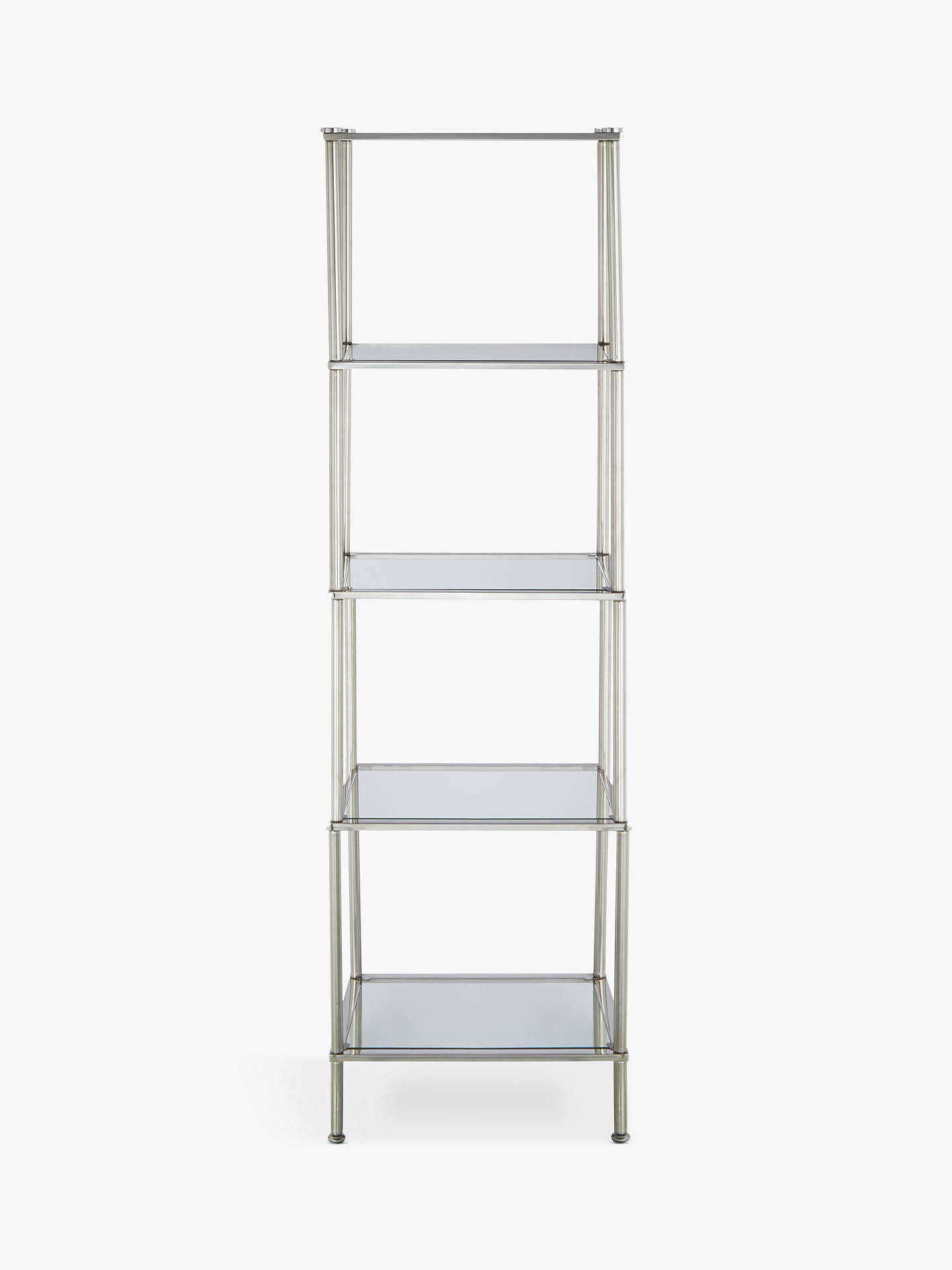 John Lewis & Partners 5 Tier Rust Resistant Stainless Steel and ...