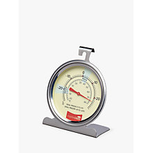 Buy Masterclass Stainless Steel Fridge/Freezer Thermometer Online at johnlewis.com