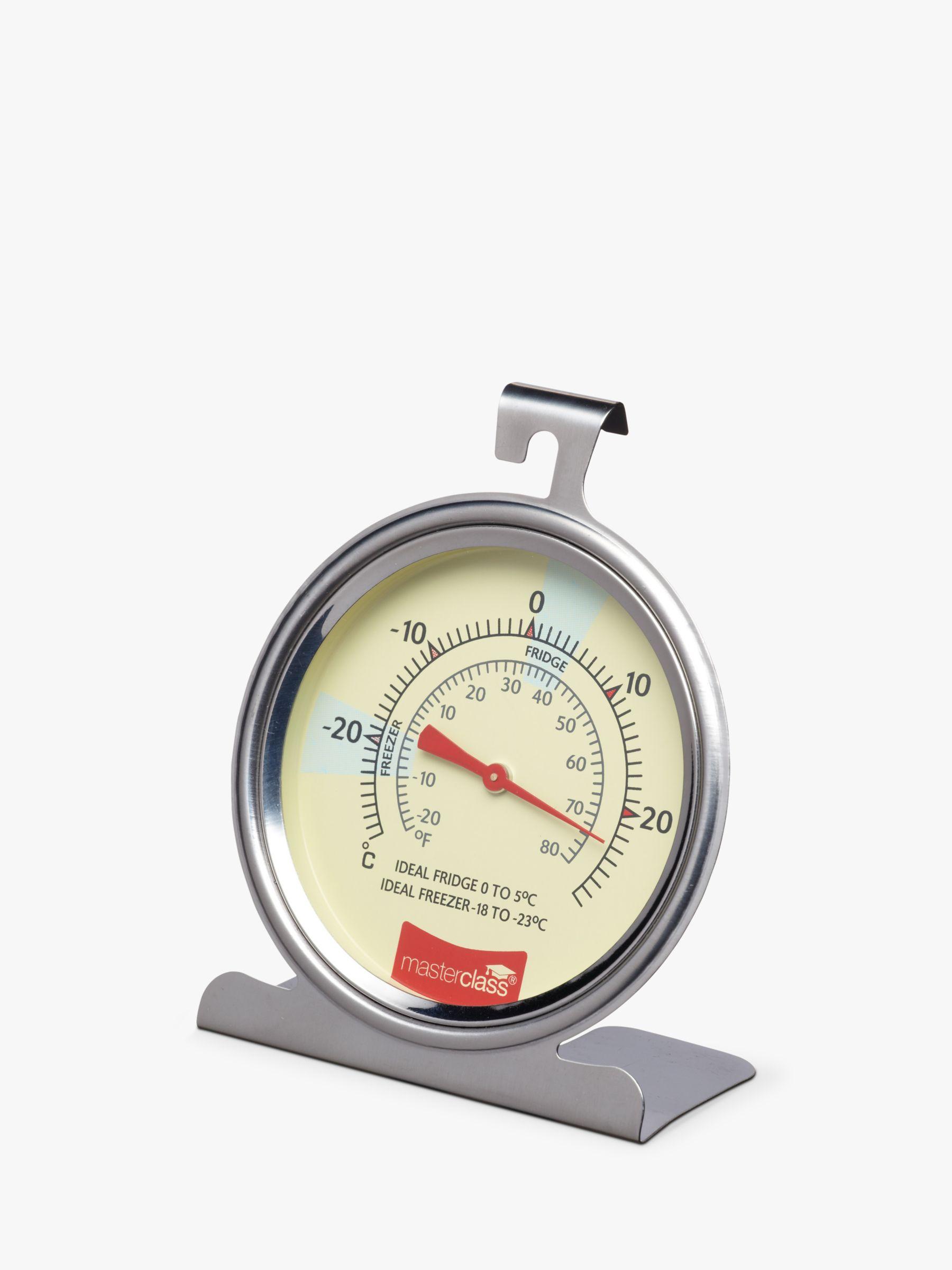 Masterclass Masterclass Stainless Steel Fridge/Freezer Thermometer