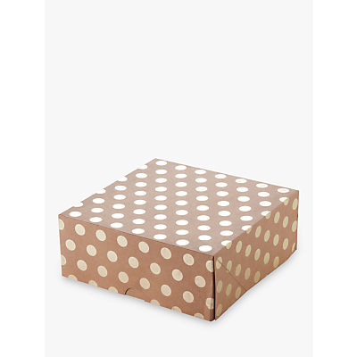 Ginger Ray Cake Boxes, Set of 2, Gold