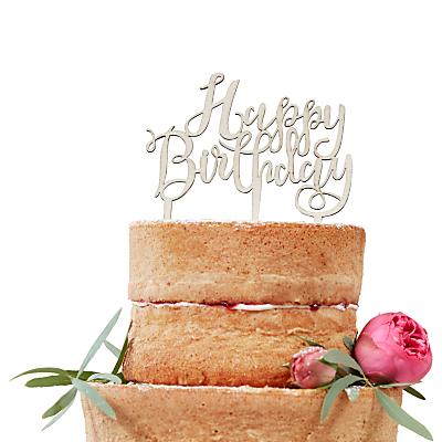 Ginger Ray Happy Birthday Cake Topper