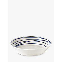 Buy Royal Doulton Pacific Lines Pasta Bowl, Blue/White, Dia.23.1cm Online at johnlewis.com