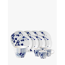 Buy Royal Doulton Pacific Porcelain Dinnerware Set, Splash, 16 Pieces Online at johnlewis.com