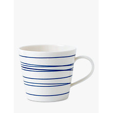 Buy Royal Doulton Pacific Lines Mug, Blue/White, 450ml Online at johnlewis.com