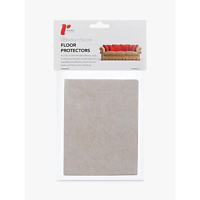 Russel Adhesive Floor Protector Felt Pads, Pack of 4