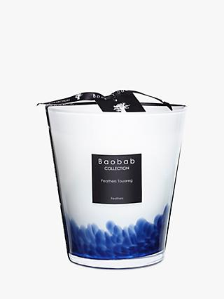 Baobab Touareg Feathers Scented Candle, 1kg