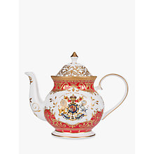 Buy Royal Collection Coronation Commemorator Teapot Online at johnlewis.com