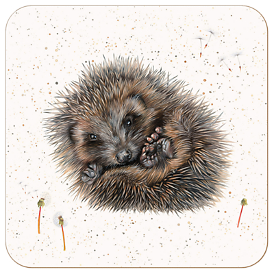 Harebell Designs Hedgehog Placemat, Multi