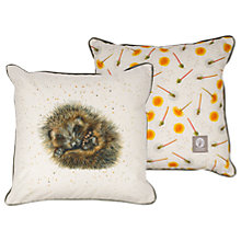 Buy Harebell Designs Hedgehog Cushion, Multi Online at johnlewis.com