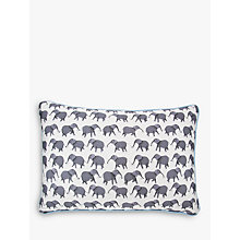 Buy Mister Berwyn Circus Elephant Cushion, Grey Online at johnlewis.com