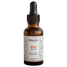 Buy Ermana Revive Face Oil With Lavender & Frankincense, 30ml Online at johnlewis.com