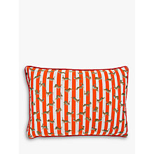 Buy Mister Berwyn Racing Rabbit Stripe Cushion, Multi Online at johnlewis.com