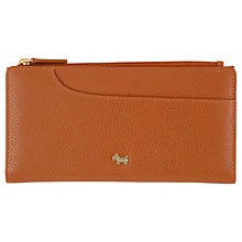 Buy Radley Pockets Pebbled Leather Large Matinee Purse, Tan Online at johnlewis.com