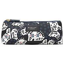 Buy Radley Folk Dog Fabric Small Pouch Bag, Ink Online at johnlewis.com